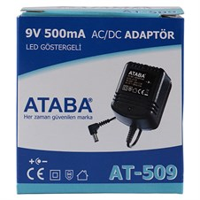 Ataba AT-509 9V 500 mAh 11.2W Telefon Adaptör