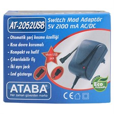 Ataba AT-2052 USB 5V 2.1Ah Switch Mode Adaptör