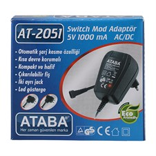 Ataba AT-2051 5V 1Ah Adaptör